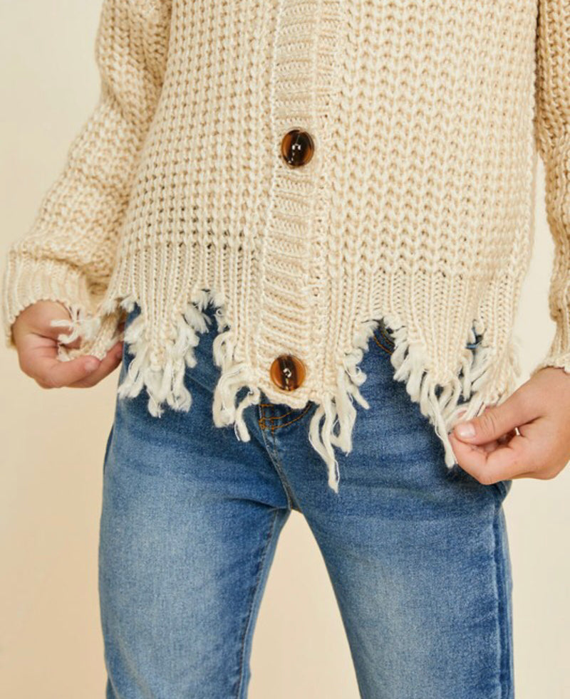 I Know I Can Cropped Cardigan - Shop Amour Boutique