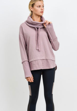 Women's Dusty Pink Pullover - Shop Amour Boutique