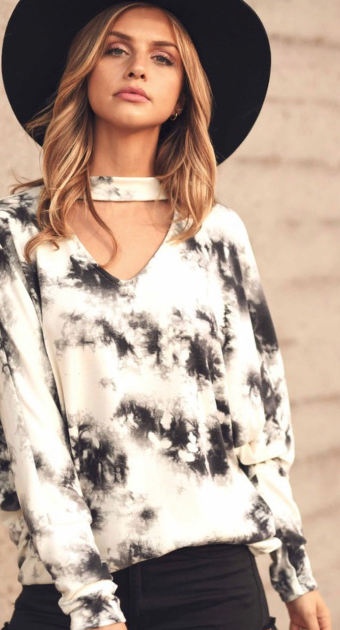 Bohemian Rhapsody Tie Dye Shirt - Shop Amour Boutique