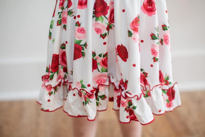 Red Rose Dress - Shop Amour Boutique