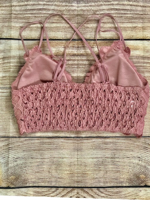 Mauve Bralette - Shop Amour Boutique