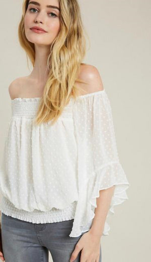 Dreaming of You Off Shoulder Top - Shop Amour Boutique