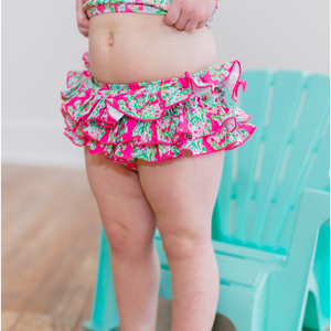 Girls Floral Swimsuit - Shop Amour Boutique