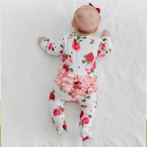 Baby Rose Romper - Shop Amour Boutique