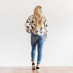 This Is Me Frayed Denim Jeans - Shop Amour Boutique