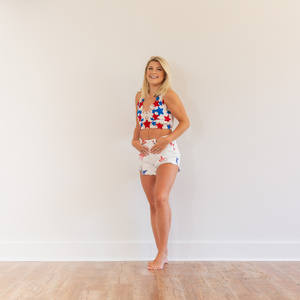 Freedom Star Shorts - Shop Amour Boutique