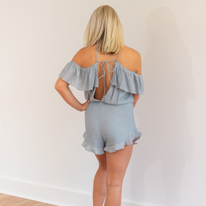 Women's Woven Romper - Shop Amour Boutique