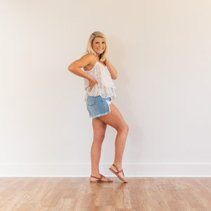 Everything Everyday Distressed Shorts - Shop Amour Boutique