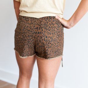 Brown Skort - Shop Amour Boutique