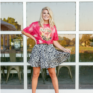 Leopard Mini Skirt - Shop Amour Boutique
