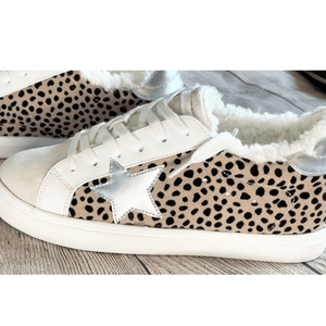 Running The Race Star Sneakers - Shop Amour Boutique