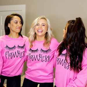 Pink Flawless Sweatshirt - Shop Amour Boutique