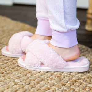 Corkys Pink Slumber Slippers - Shop Amour Boutique