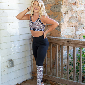Cheetah Love Sports Bra - Shop Amour Boutique