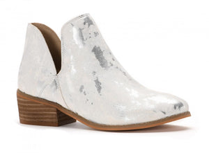 Corkys Wayland White Booties - Shop Amour Boutique
