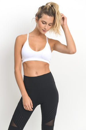 Racerback Seamless Sports Bra - Shop Amour Boutique