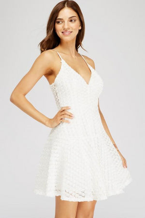 All Eyes On You Floral White Dress - Shop Amour Boutique