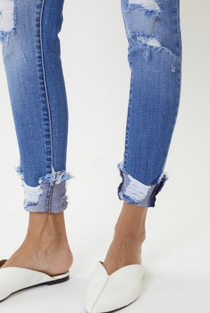 Because You Can  Mid-Rise Jeans - Shop Amour Boutique