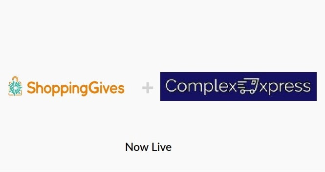 ShoppingGiving Change Donations Collaboration with ComplexExpress