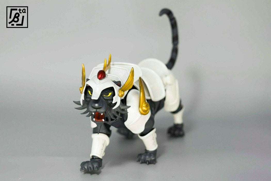ronin_warriors_white_/_black_silver_blaze_tiger_yoroiden_samurai_troopers_figure