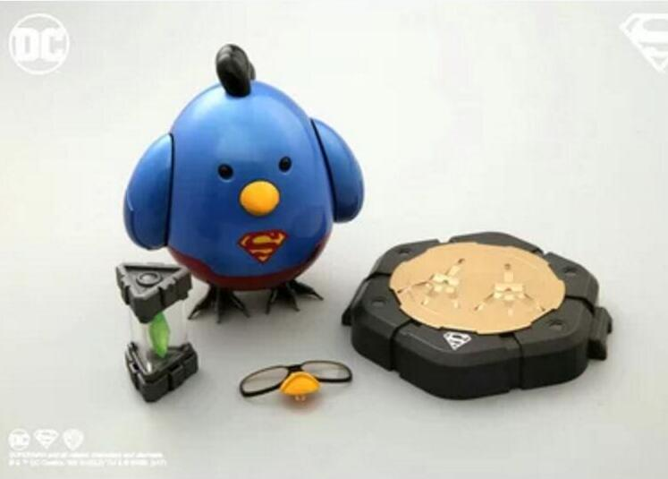 CCSToys Toys Hero Q-MECH Superman Chicken FanMade DC Family Action Figure