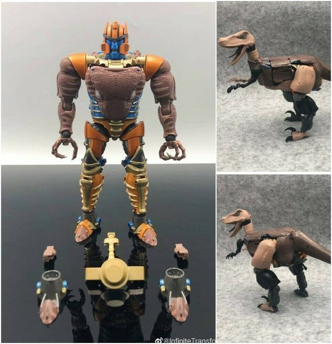 Infinite Transformaion Transformer Beast Wars IT-02 MP-41 Dinobot Action Figure