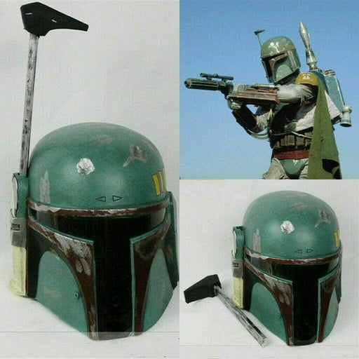 Star Wars Boba Fett Full Face Helmet PVC Armour Cosplay Movie Costume Mask Props - ComplexExpress