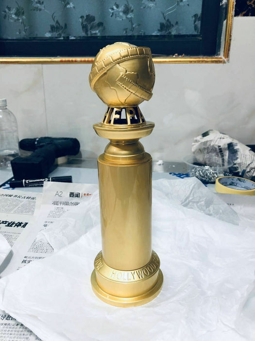Golden Globe Awards Trophy Replica Zinc Alloy Diecast Statue NEW VER Prize DHL ComplexExpress
