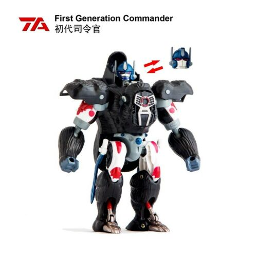TransArt Transformers Beast Wars BWS-01 OP Optimus Prime Gorilla Action Figure - ComplexExpress