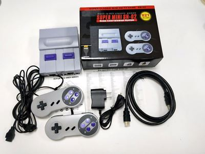 Super Nintendo Classic Edition Console Built In 821 Video Games 8Bit HDMI Output - ComplexExpress