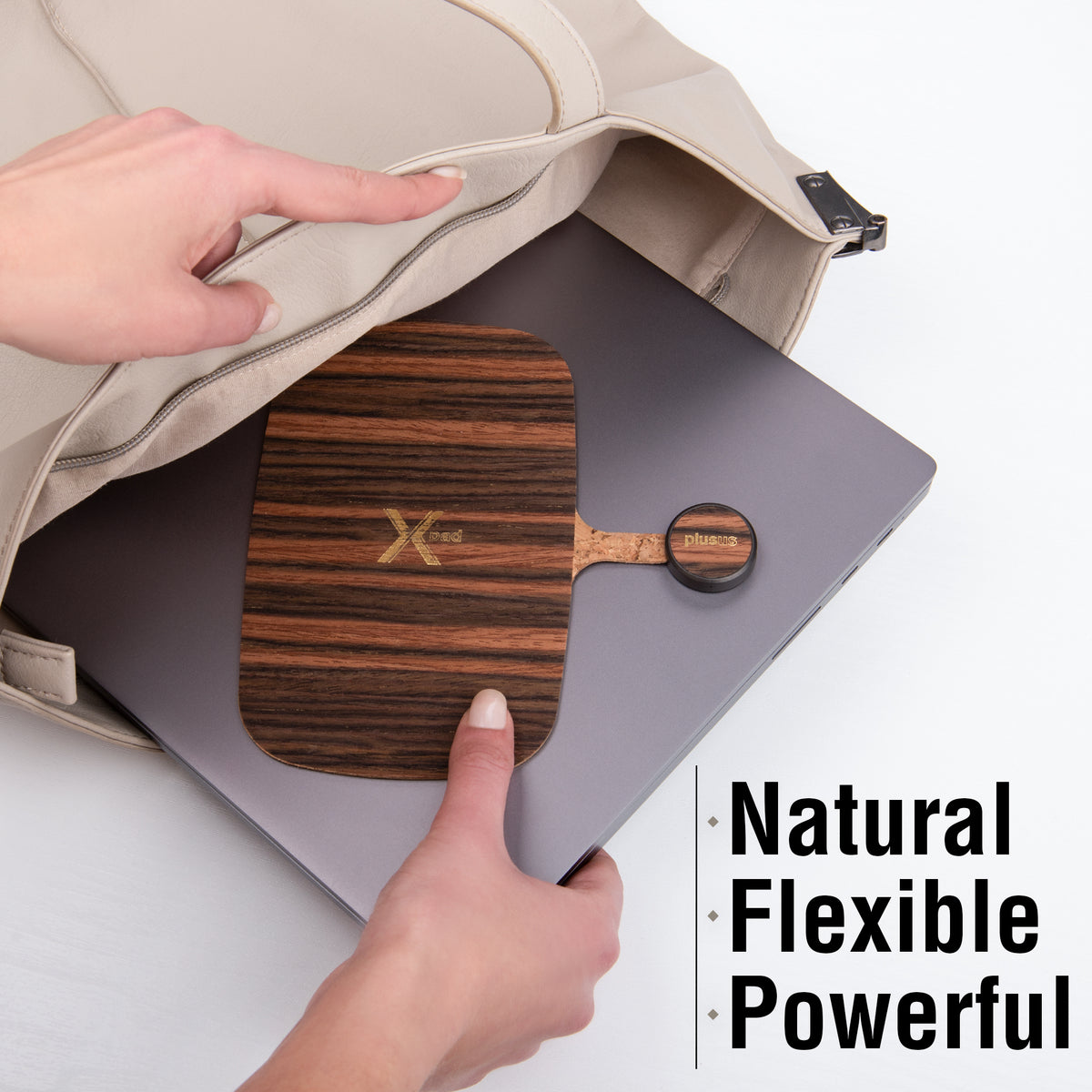 Xpad Wireless Charging Pad - Smoke Wood