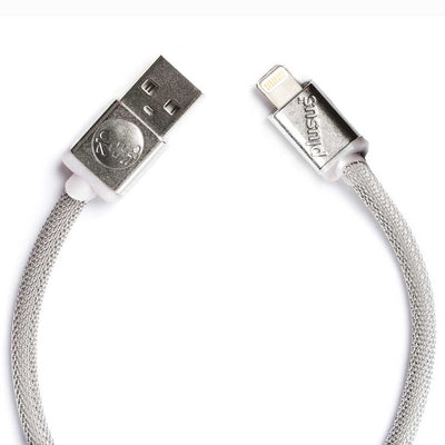 Lifestar Designer Cable - Jewelry Mesh finish- Apple MFi certified Lightning