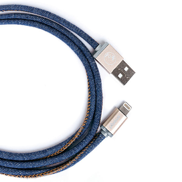 LifeStar Charging Cable - Denim Blues - Apple MFi Certified Lightning