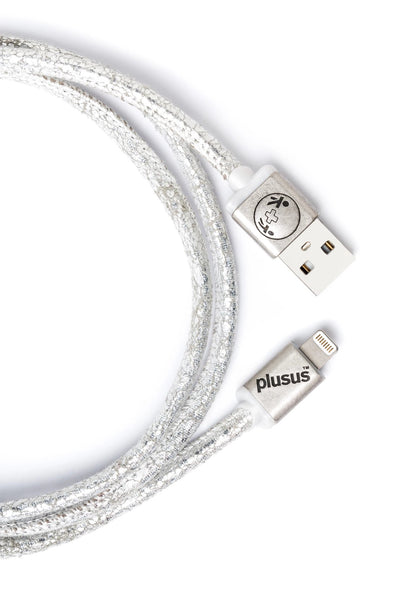 Lifestar Premium - Silver Press -Apple MFi Certified Lightning