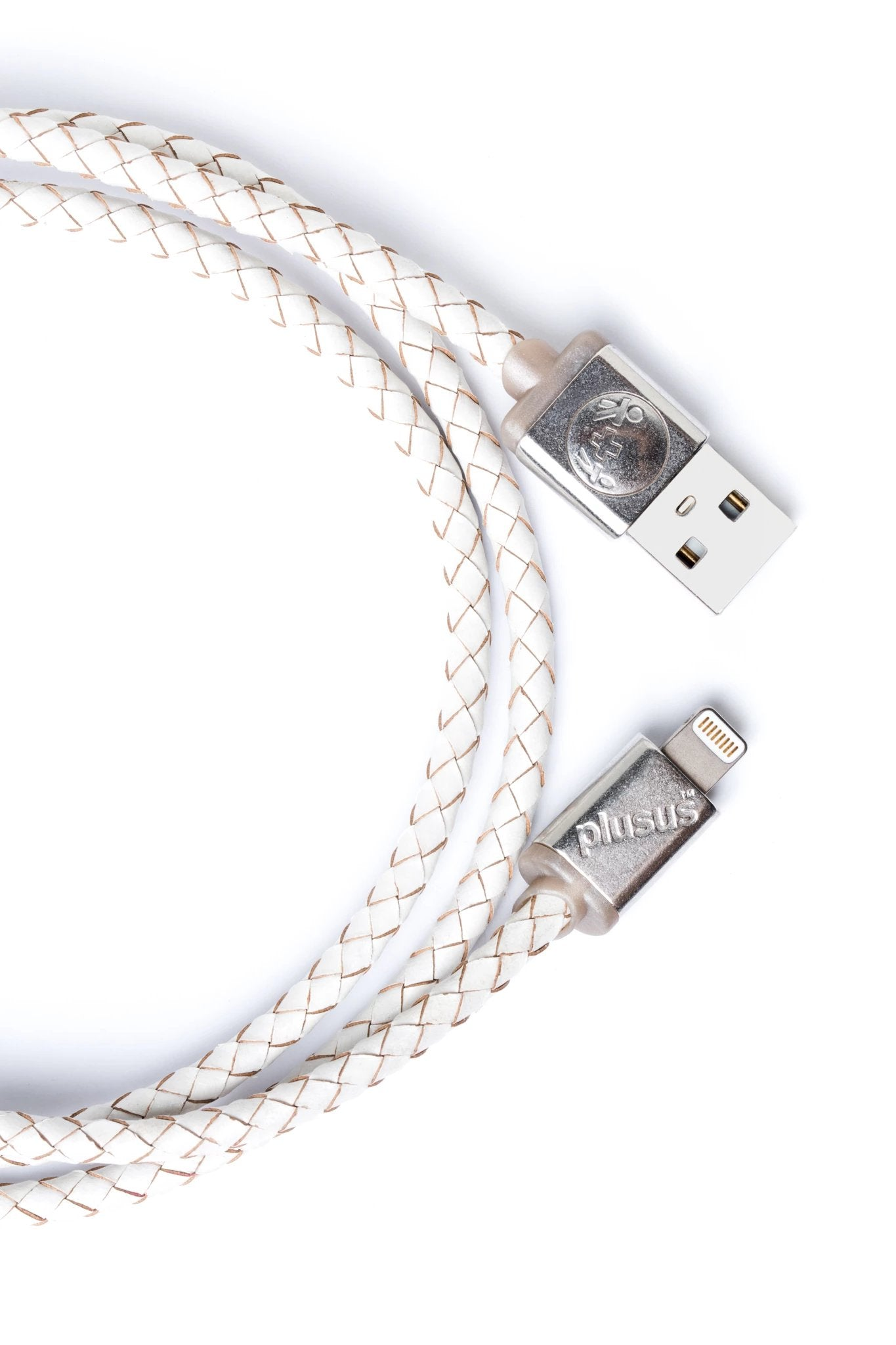 Lifestar Premium - Cross White -Apple MFi Certified Lightning