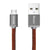 LifeStar Charging Cable - Fuzzy Mocha - Micro USB to USB