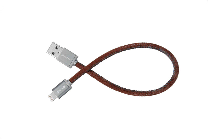 LifeStar Charging Cable - Fuzzy Mocha - Apple MFi certified lightning