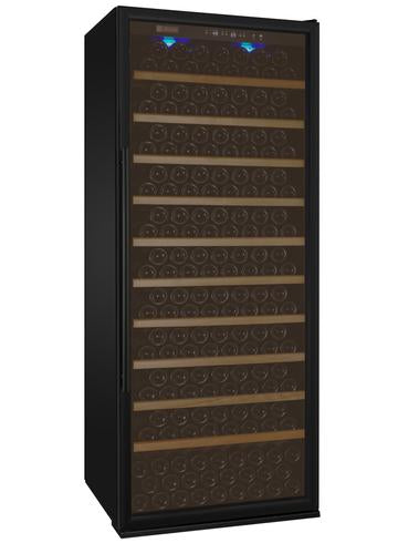 "32"" Wide Vite II Tru-Vino 305 Bottle Single Zone Black Right Hinge Wine Refrigerator"