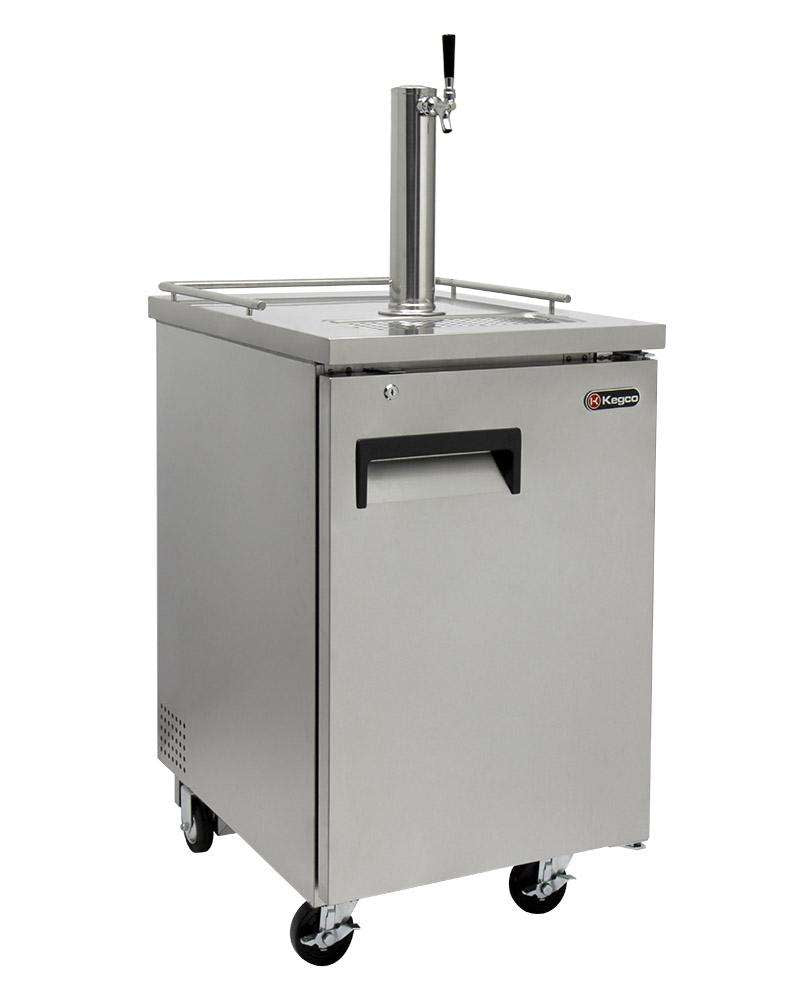 Kegco Single Keg Commercial Grade Brew Kegerator - Stainless Steel HBK1XS-1,HBK1XS-1