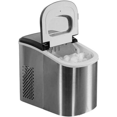 "Magic Chef MCIM22ST Portable Ice Cube Maker - 9.5"" - STAINLESS,MCIM22ST"