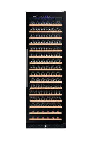 Smith & Hanks 166-Bottle Single Zone Wine Cooler, Smoked Black Glass - RW428SRG,RW428SRG
