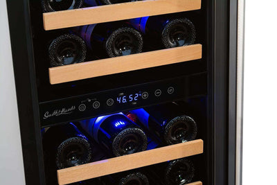 Smith & Hanks 32 Bottle Dual Zone Wine Cooler - RW88DR,RW88DR