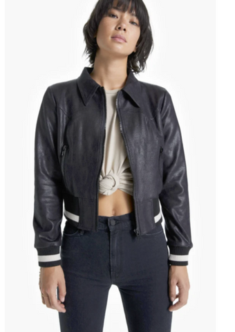 BIKER JACKET WASH LEATHER