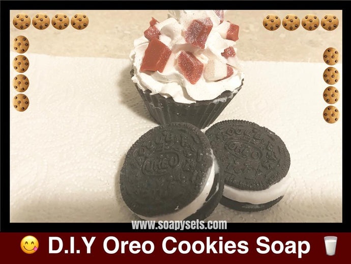 [VIDEO TUTORIAL] How to Make Oreo Cookie Soap D.I.Y
