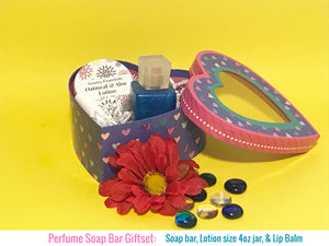 Perfume Soap Bar - Love Spell and Gift Set For Her