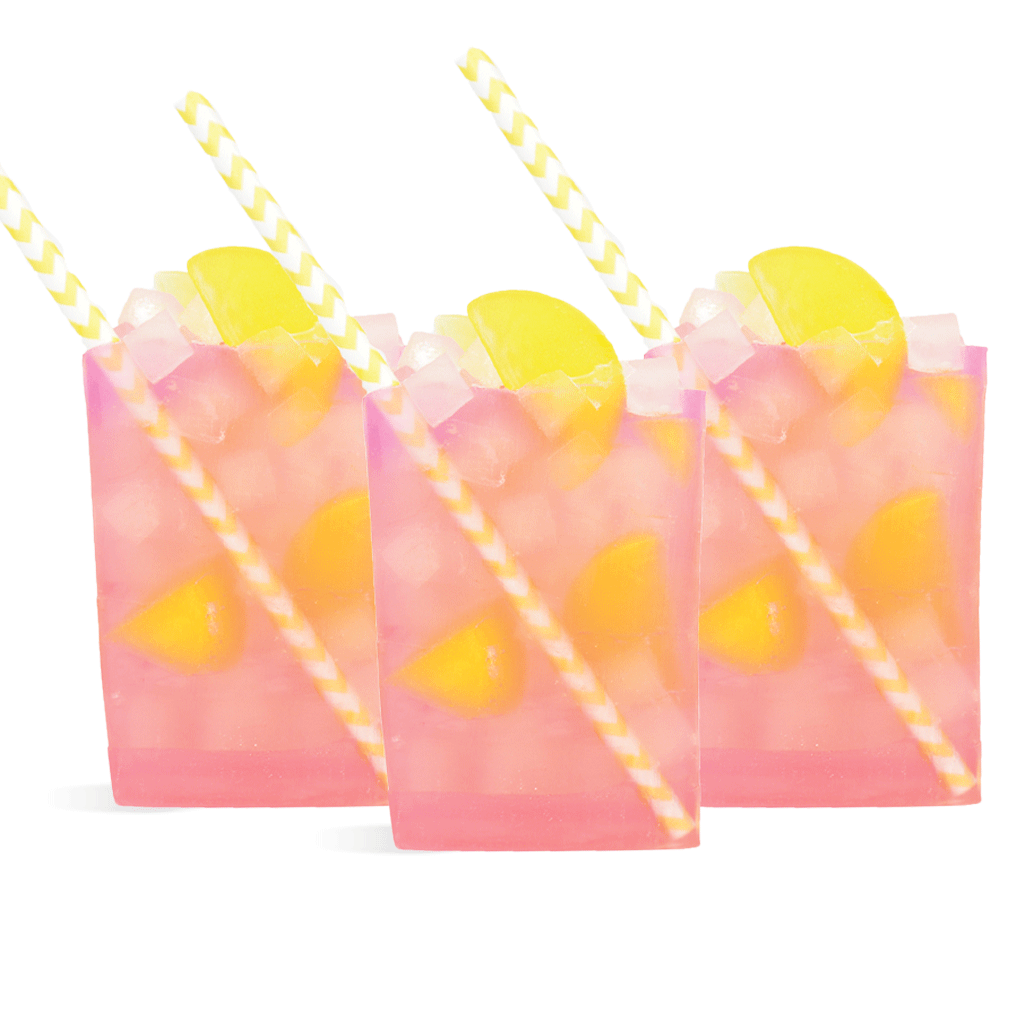 Strawberry Lemonade Drink Soap