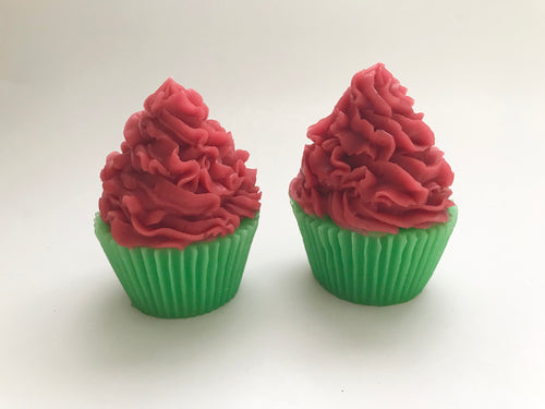 Holiday Mint Cupcake Soap