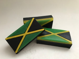 Jamaican Flag Soap