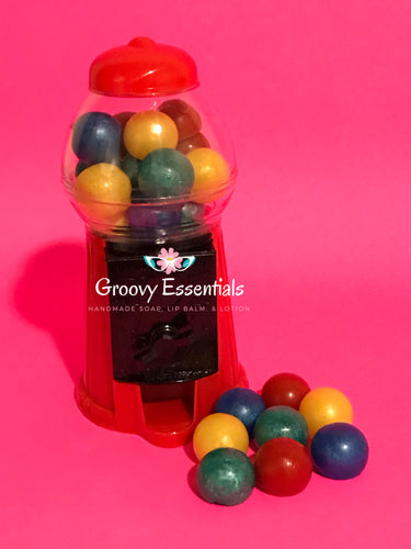 Soapy Gum Ball with Real Machine