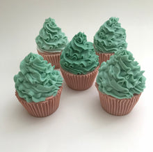 Load image into Gallery viewer, Groovy Mint Cupcake Soap